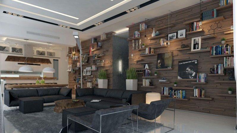 Inspiring Studio Apartment For City Living: Cool Apartment For ...