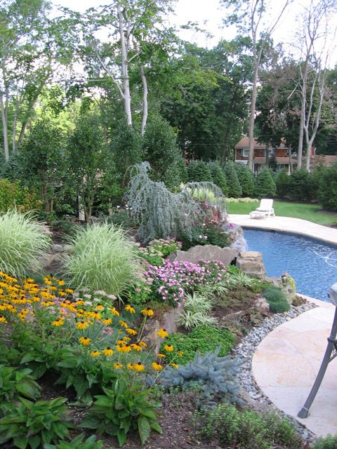 Pool Landscape Design New Jersey Great Gardens Ideas Pinterest