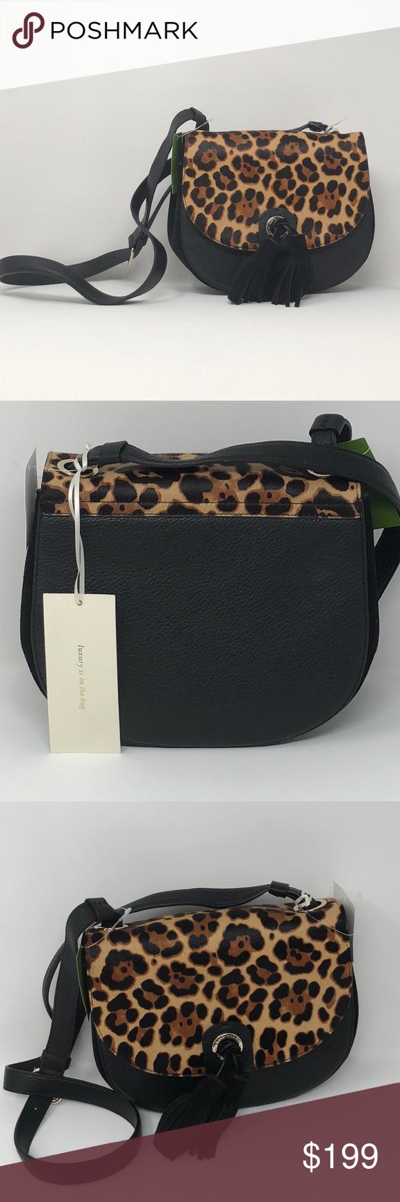 cdcb06c550 NWT Kate Spade crossbody Bag Kate Spade Sequoia Avenue Small Andi Crossbody  Handbag Black leather bag