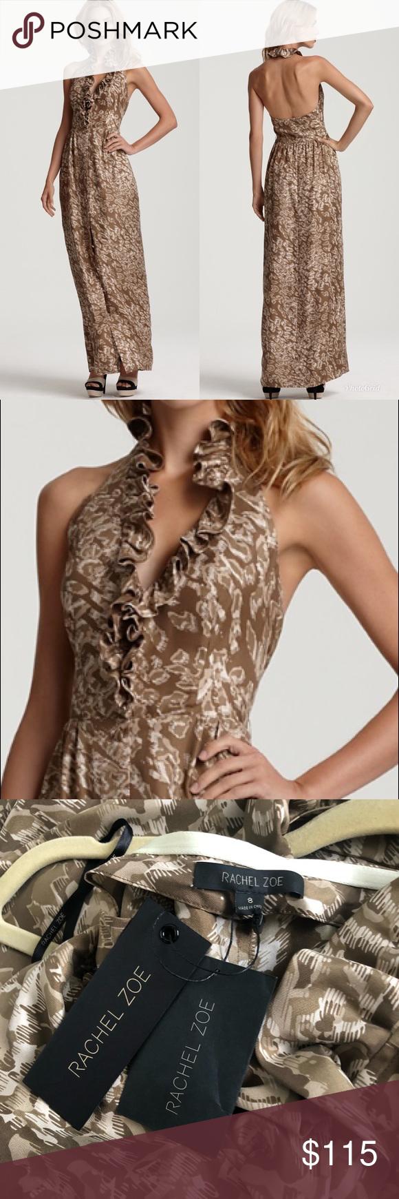 Nwt Rachel Zoe Jacqueline Halter Maxi Dress Size 8 New With Tags Beige Printed Silk Maxi Dress By Rachel Halter Maxi Dresses Rachel Zoe Dresses Silk Maxi Dress [ 1740 x 580 Pixel ]