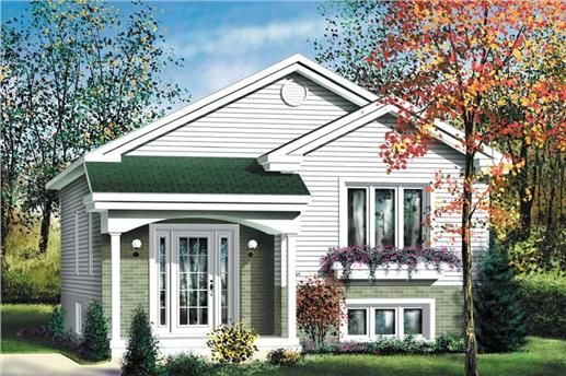 This small house plan features two bedrooms and one bathroom with a - Plan Maison Sweet Home 3d