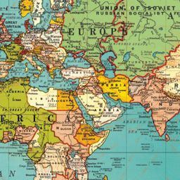 Cavallini world map 4 wrapping paper wrapping papers this world map is yet another wonderful design from cavallinis collection of detailed map papers we love them for gift wrapping crafting and framed as gumiabroncs Choice Image