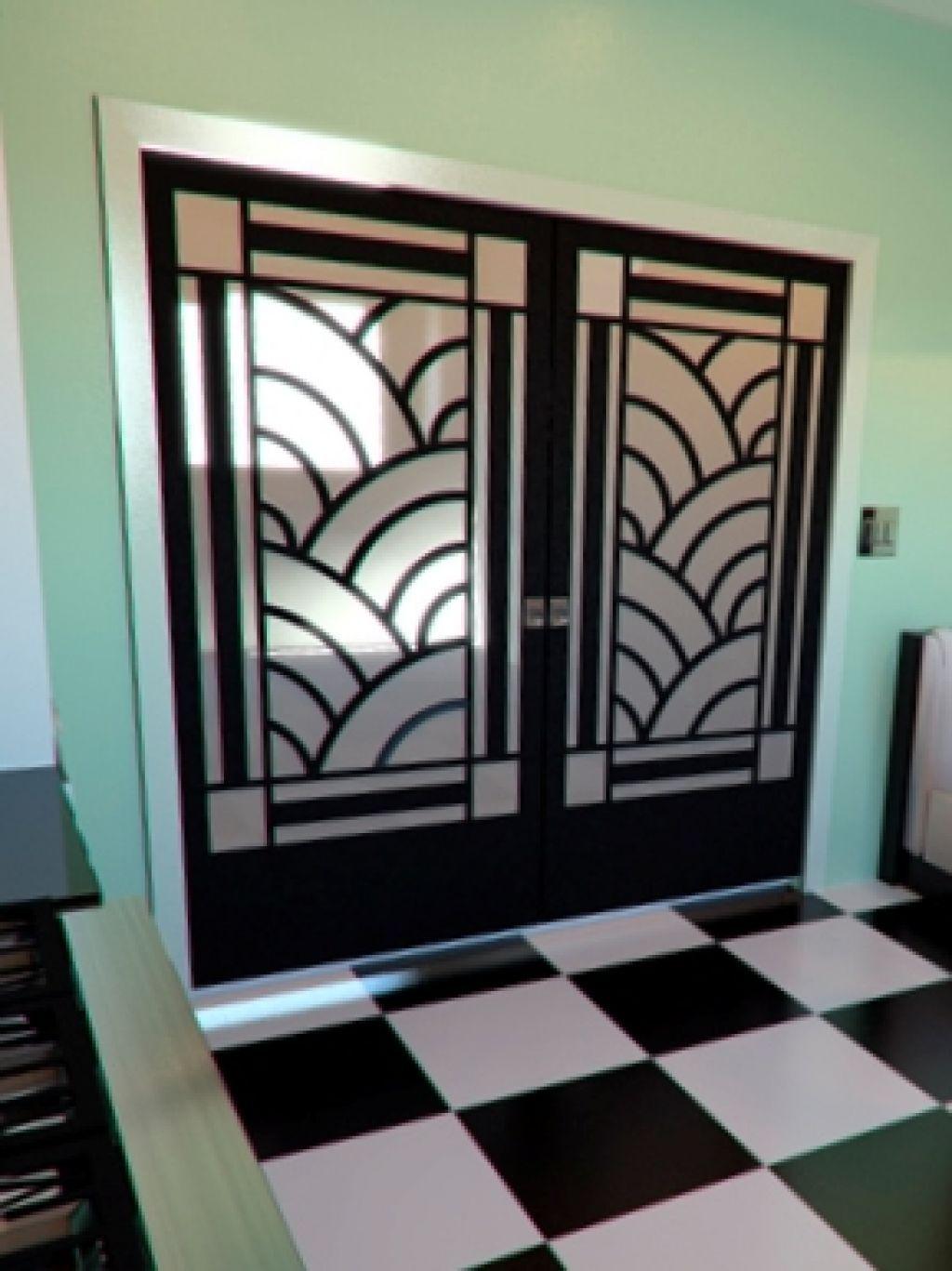 Art Deco Doors Interior
