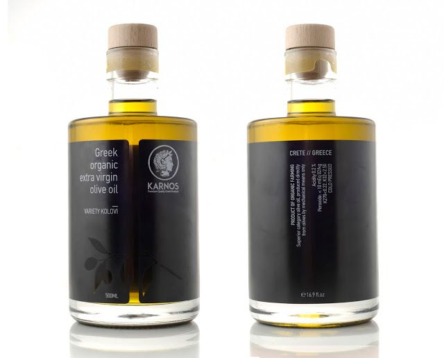 KARNOS Olive Oil on Packaging of the World - Creative Package Design Gallery