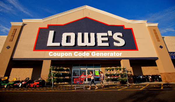 Lowes Coupon Generator For 10 20 Off For Home Improvement Store 20 Off On 100 Purchase Up To 50 Off On The Lowes Coupon Lowes Coupon Code Lowes Hardware