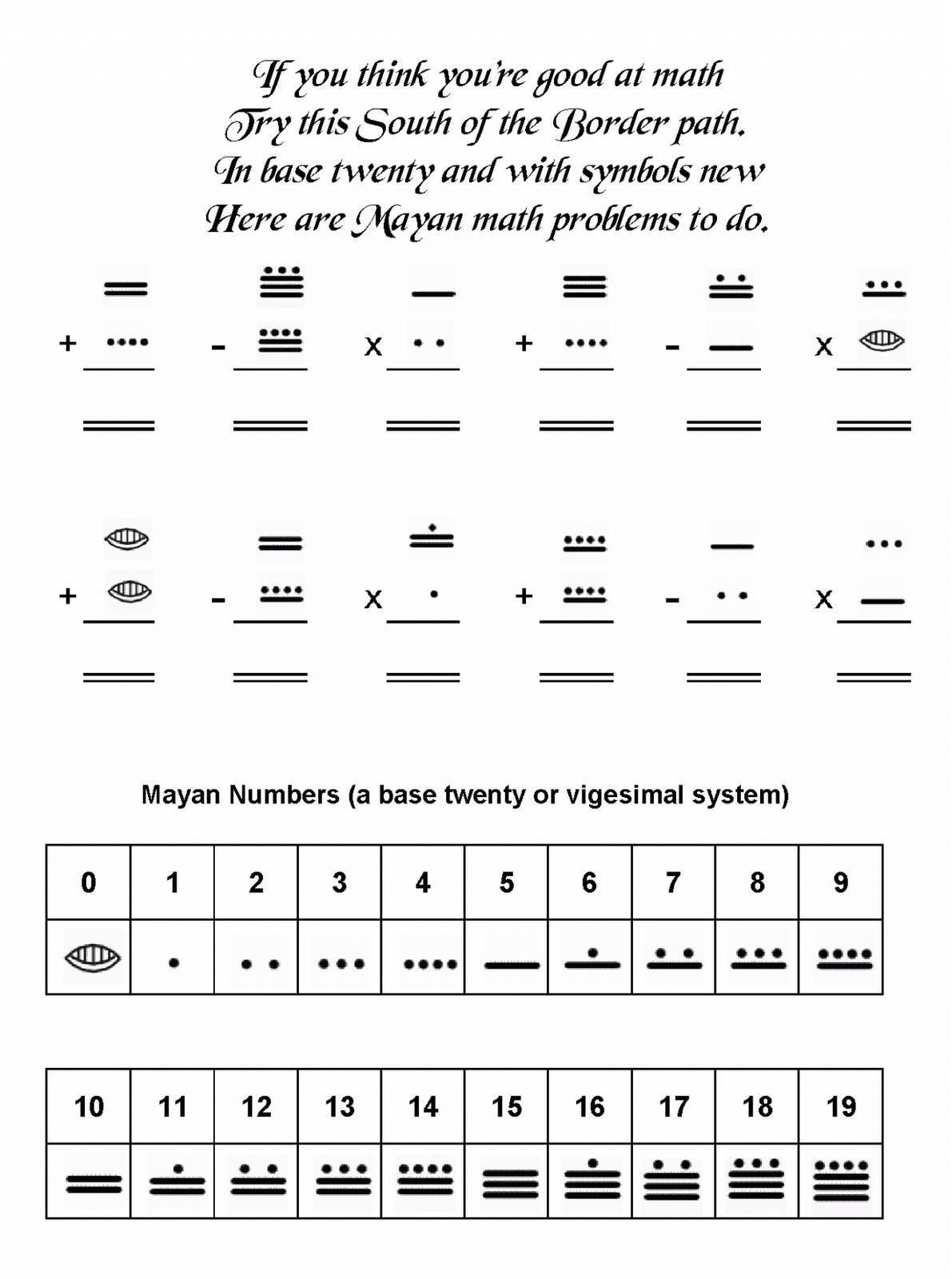 Mrs. Art Teacher!: mayan math | Spanish Maya | Pinterest | Math ...
