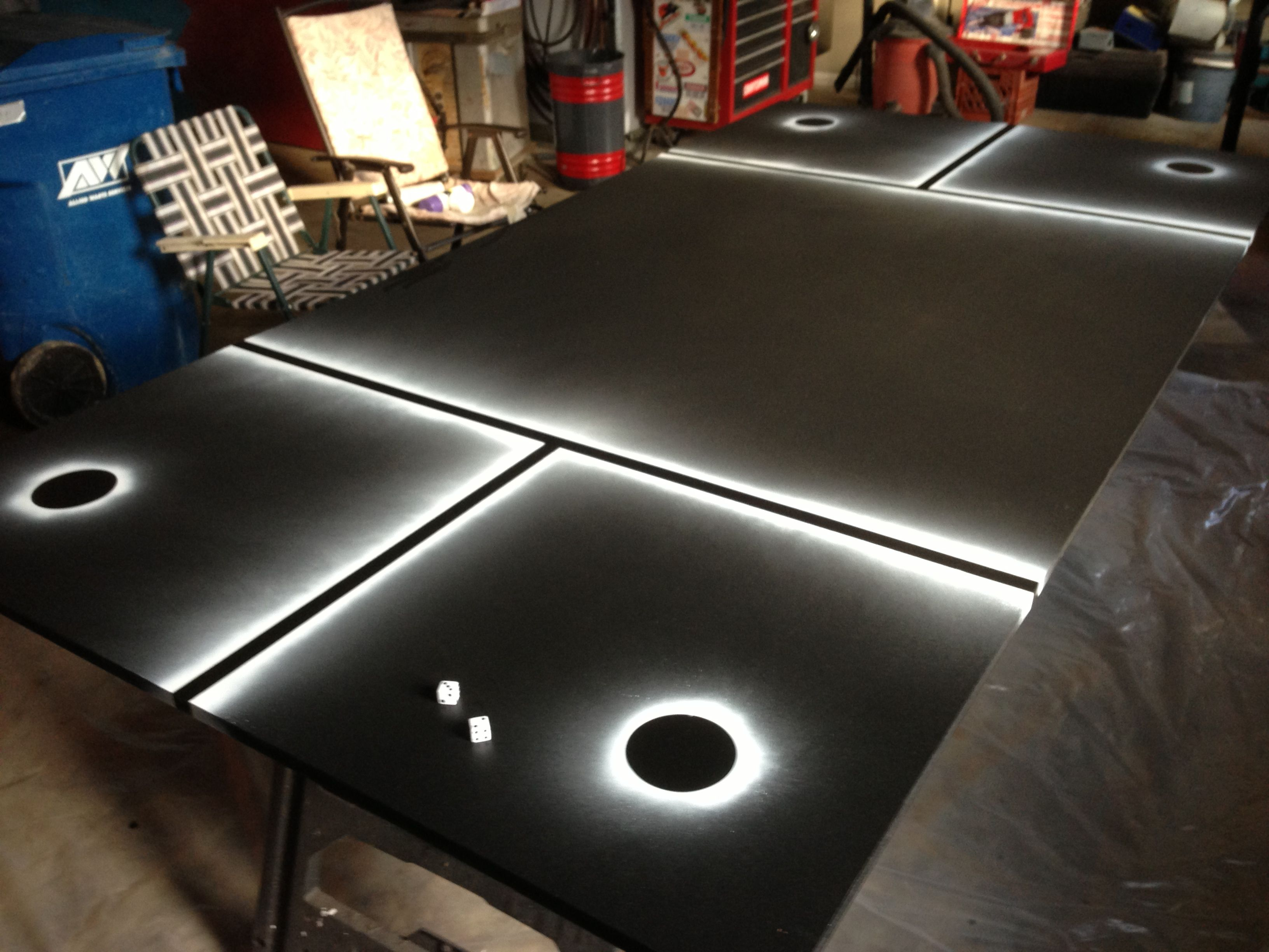 Beer Die Table And Design I Made For Levo Mad Raven