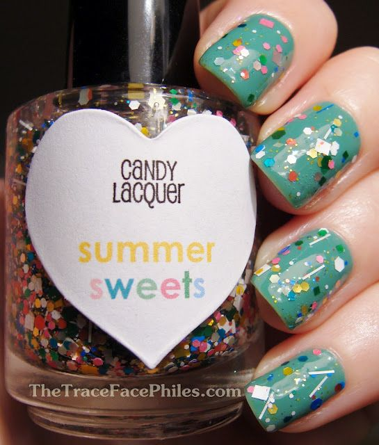 The TraceFace Philes: Candy Lacquer Summer Sweets!