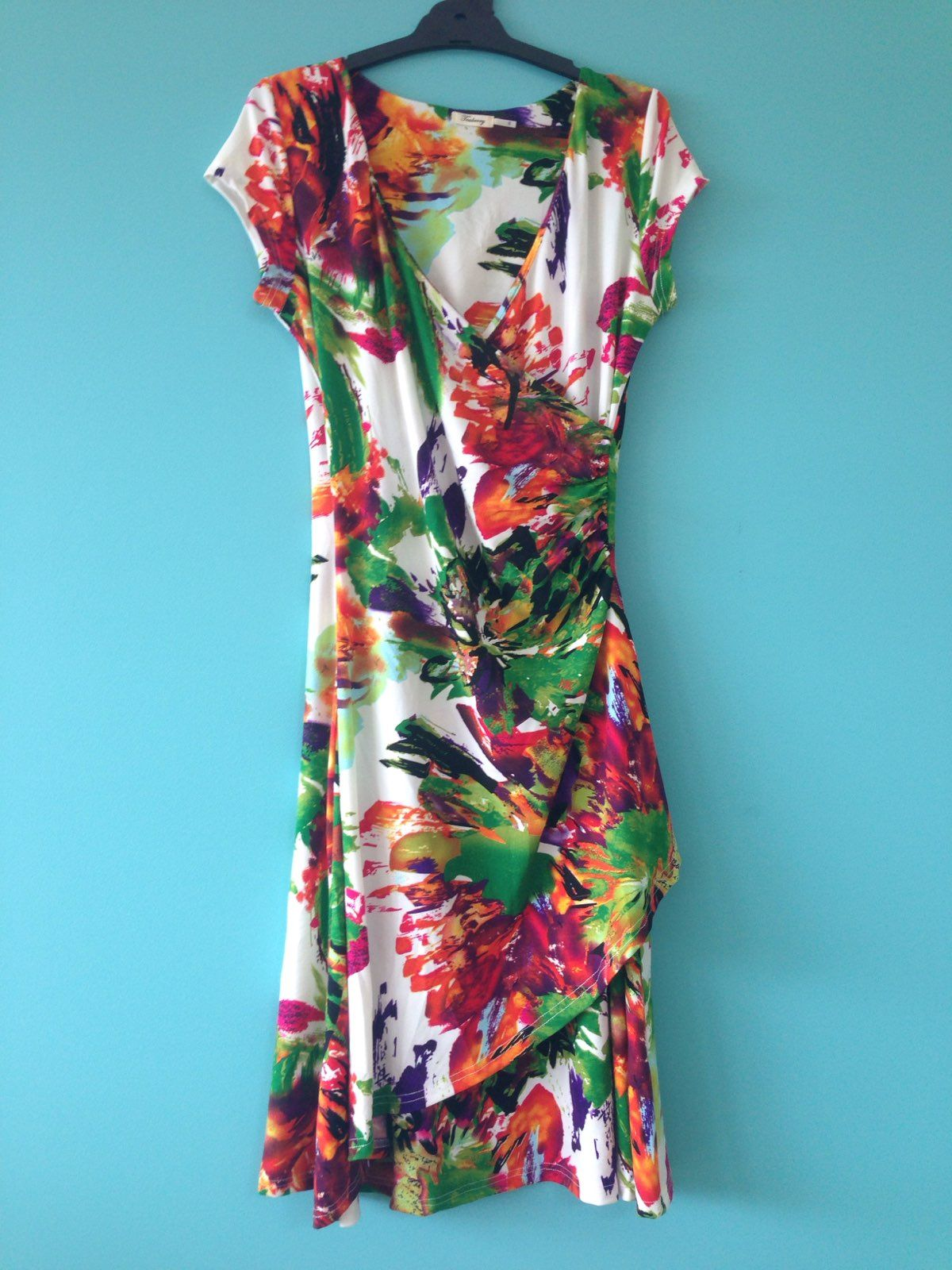 Teaberry size 8 Wrap Dress on Locl | Dresses for sale- workwear ...