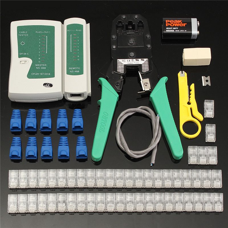 cat 5 to dual rj11 wiring diagram free picture new arrival network ethernet cable tester rj45 kit rj45 crimper  network ethernet cable tester rj45