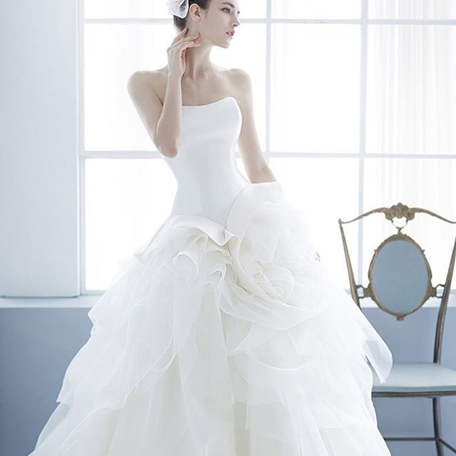 This wedding dress from Jessica Lauren is the definition of purity ...
