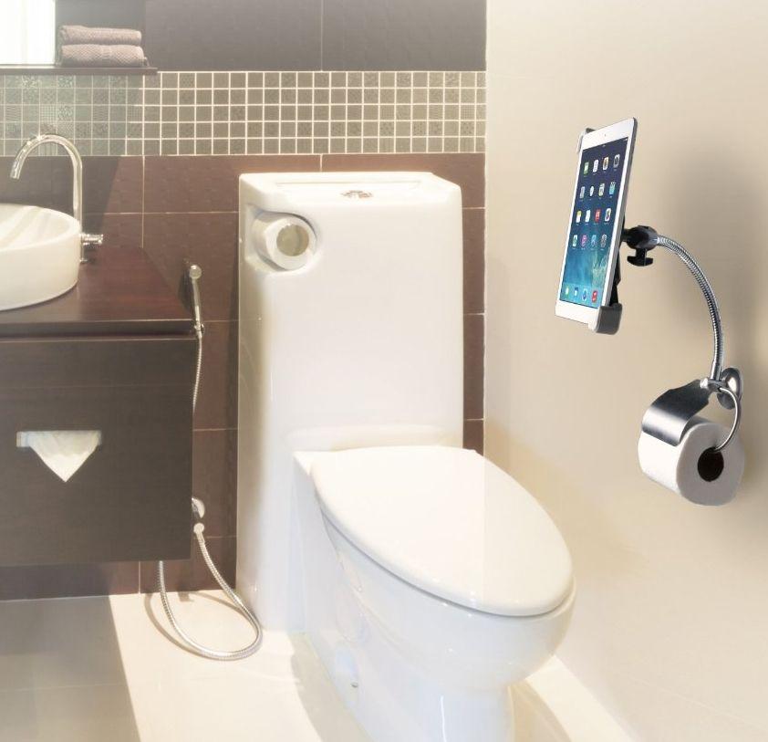 Digital Wall Mount Bathroom Stand