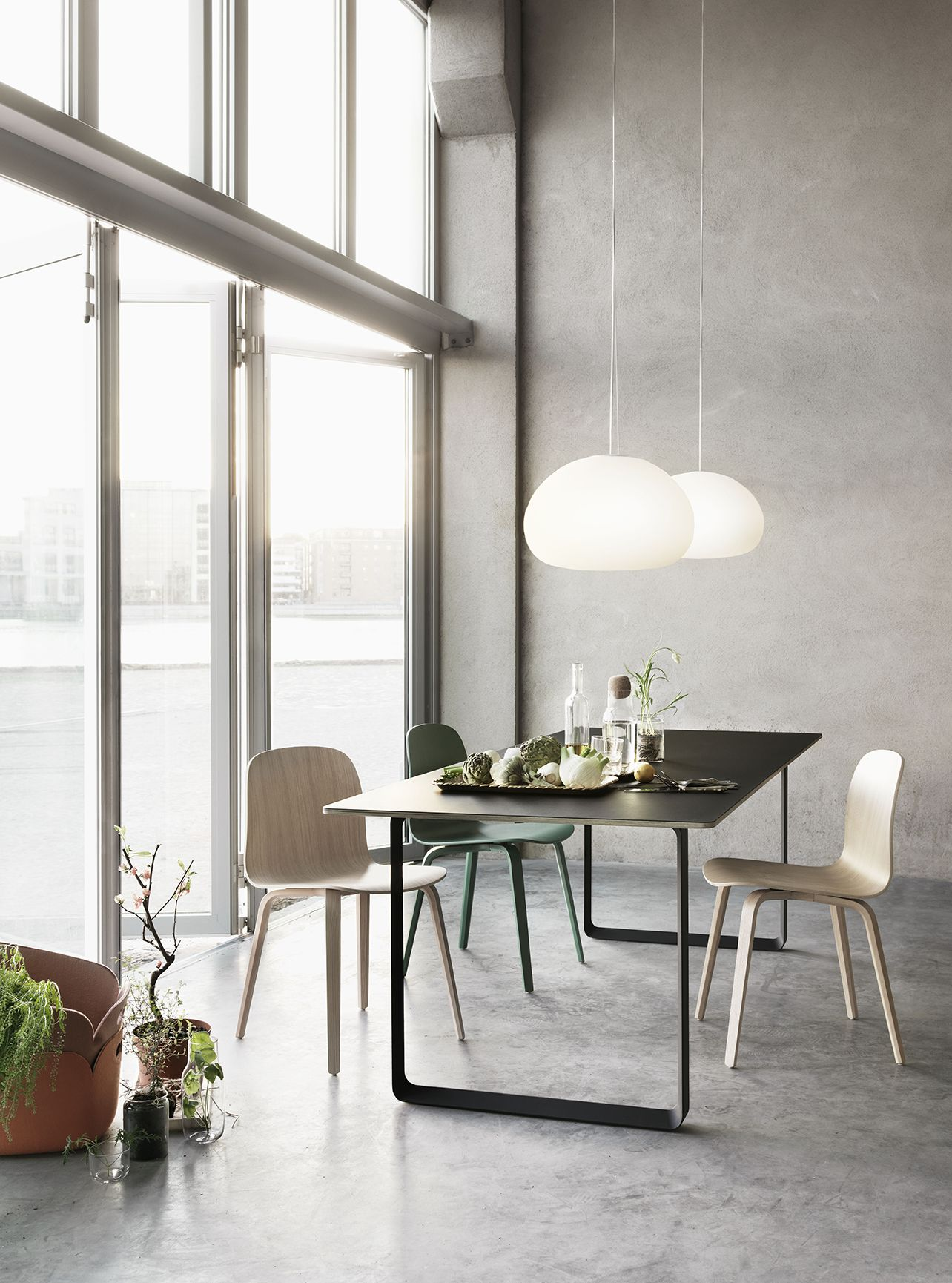 Grande Table Scandinave Muuto Le Design Scandinave Moderne Lighting Pinterest