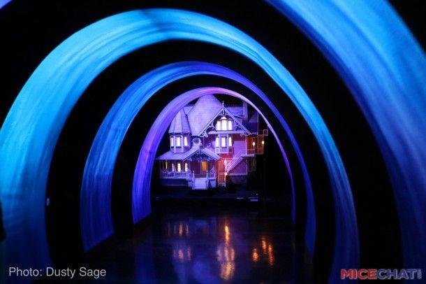 Laika Props Exhibit Universal Studios Hollywood Coraline Light Tunnel Universal Studios Hollywood Universal Studios Hollywood