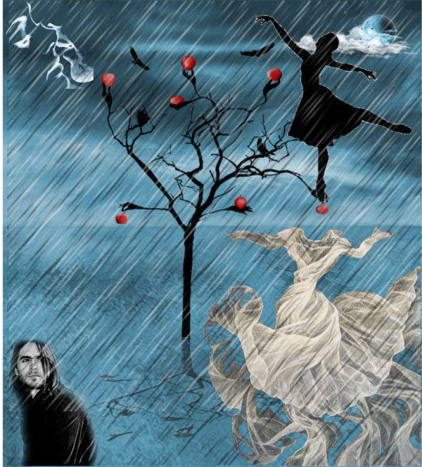 """""""November rain"""" by kanaki ❤ liked on Polyvore"""