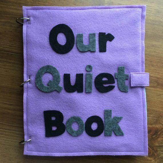 Customized Quiet Book, Felt Books, Quiet Book Page