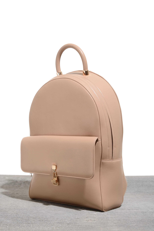 b538ec1af65 Calf Leather Bag with Custom Made Rose Gold Hardware