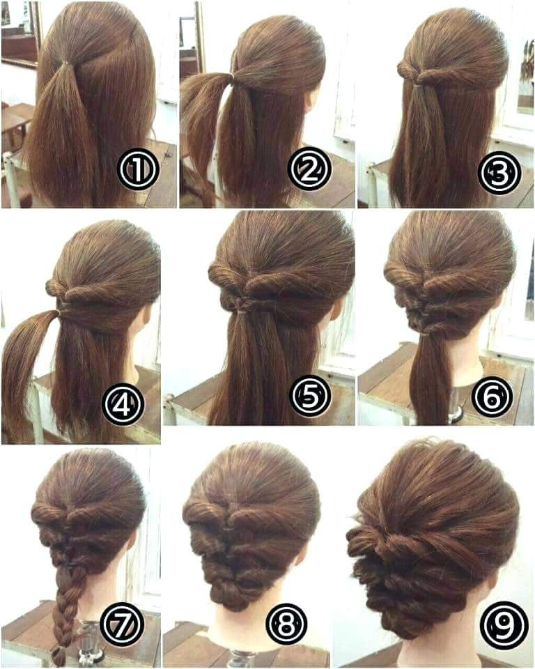 Easy Hairstyles Short Hair Easy Hairstyles For Short Curly Hair To Do At Home Hair Color Up Dos For Medium Hair Hair Tutorials Easy Easy Updos For Medium Hair