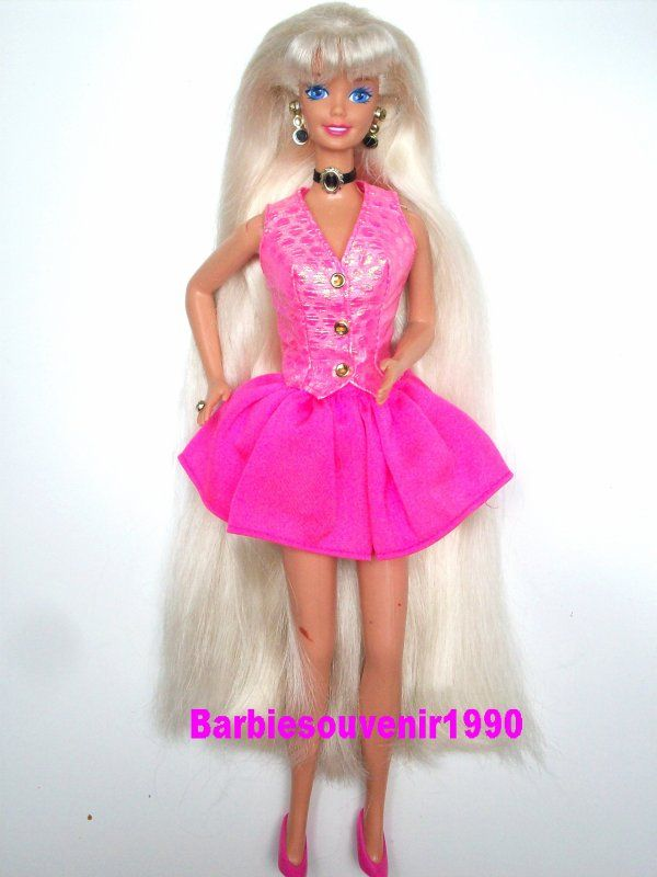 Barbie coupe et coiffe ( cut n style) 1995