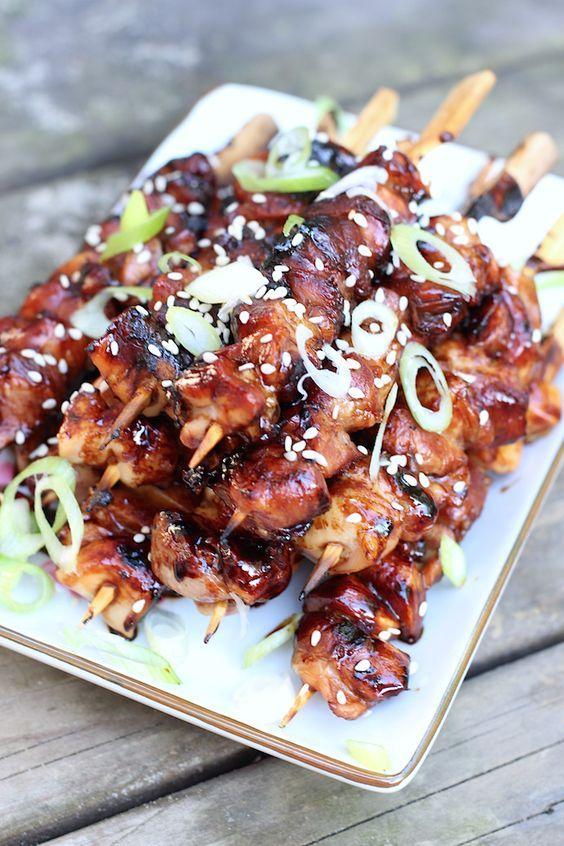 Yakitori spiesjes uit Reishonger | Recept | Lekker eten ...