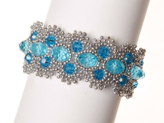 Beaded Bracelet Tutorial Peyote Bracelet di BeadingBeeTutorials