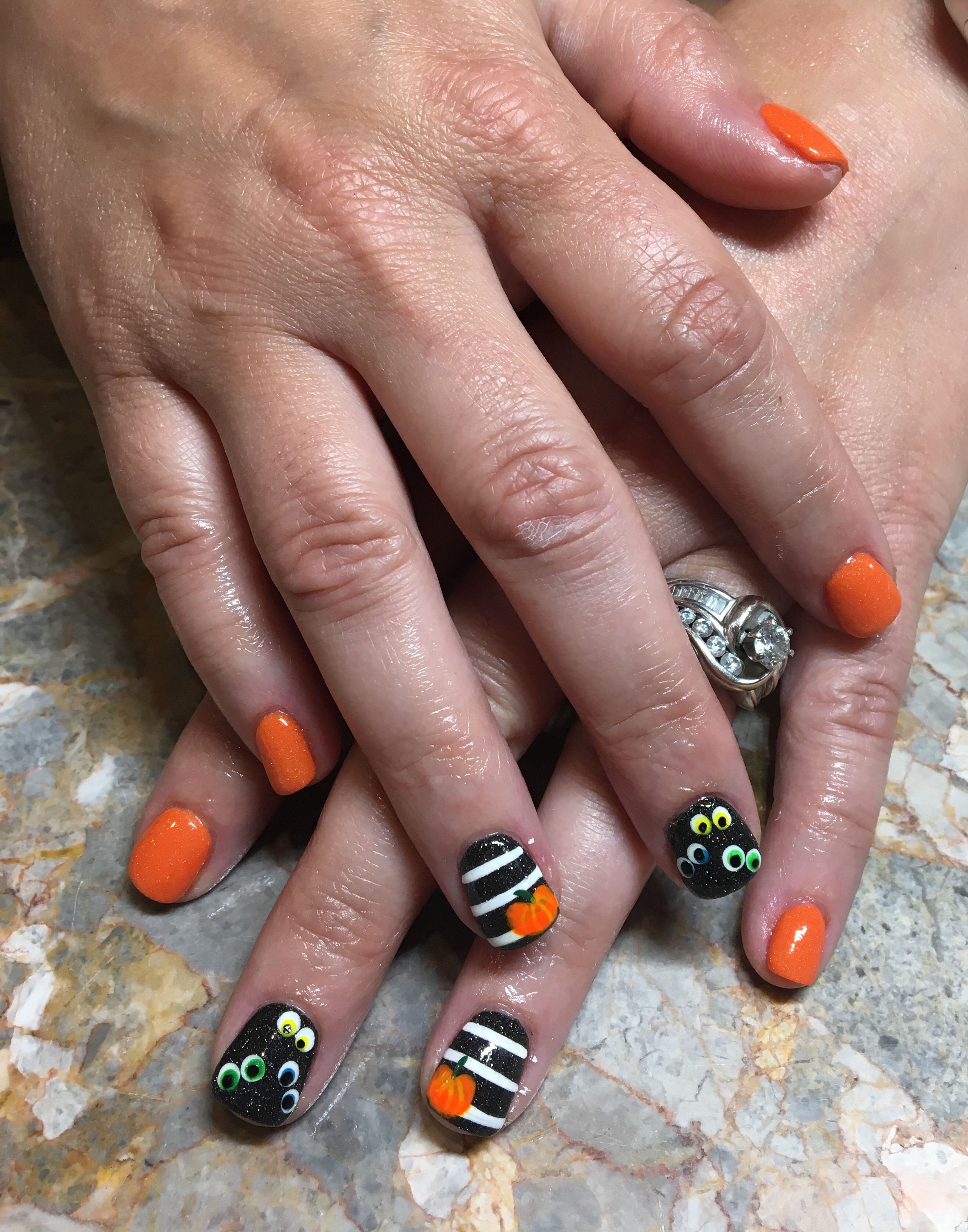 Pin By Genevieve Russell On Pretty Girly Nails Nails Nail Polish Addict Halloween Nails