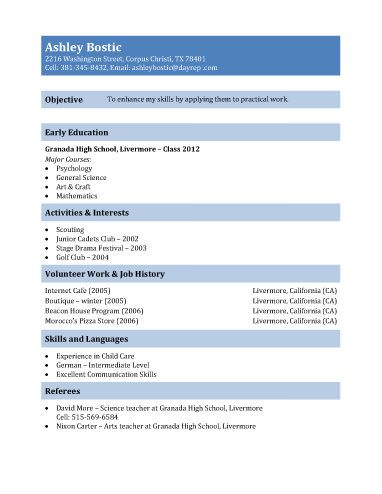 Teenage Resume Templates Cool Cvs For Vet Nursing Positions  Google Search  Places And Maps .