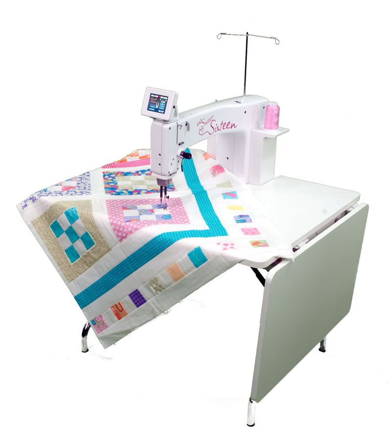 Hq Sweet Sixteen Long Arm Quilter W New Trustitch Stitch Regulator Includes Bonus Package Long Arm Quilting Machine Handi Quilter Handi Quilter Sweet 16
