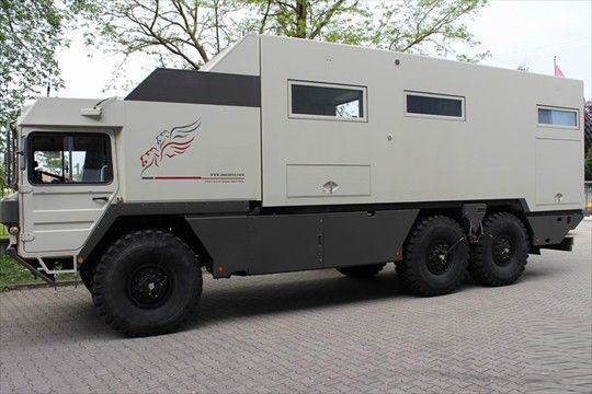 Man Kat 6x6 Expedition Truck With Images Expedition Truck