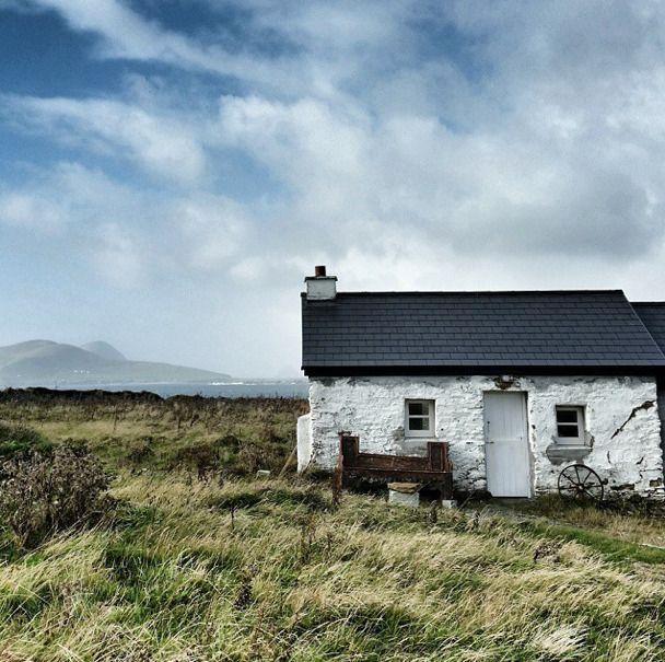 blasket island cottage, ireland.