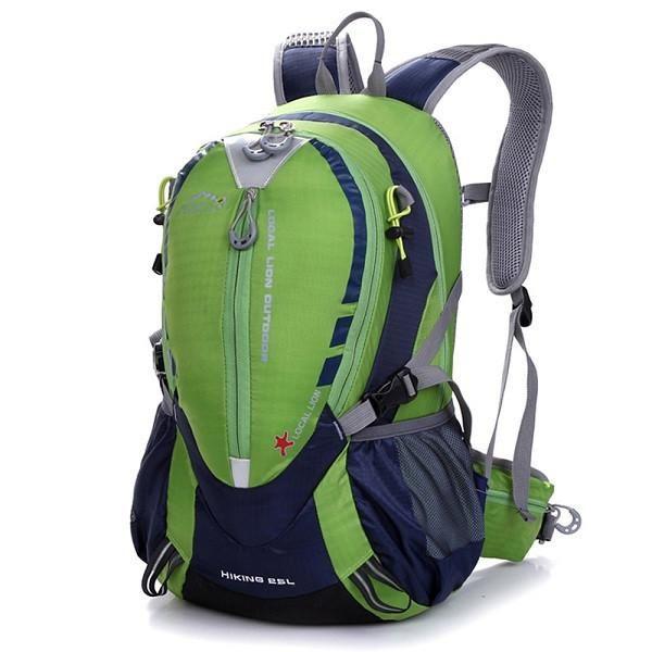Waterproof Nylon Mountaineering Backpack.