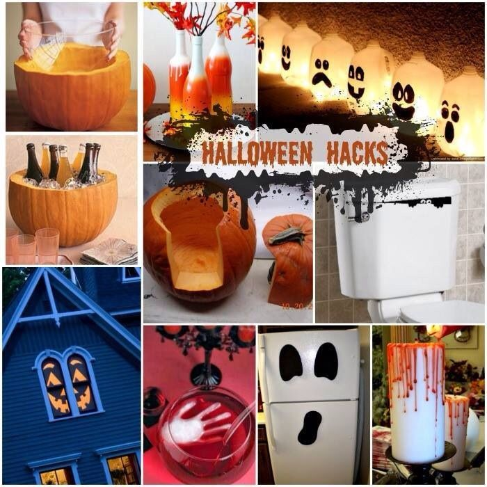 Great Halloween decoration ideas that require slim to no financial - halloween cheap decorations