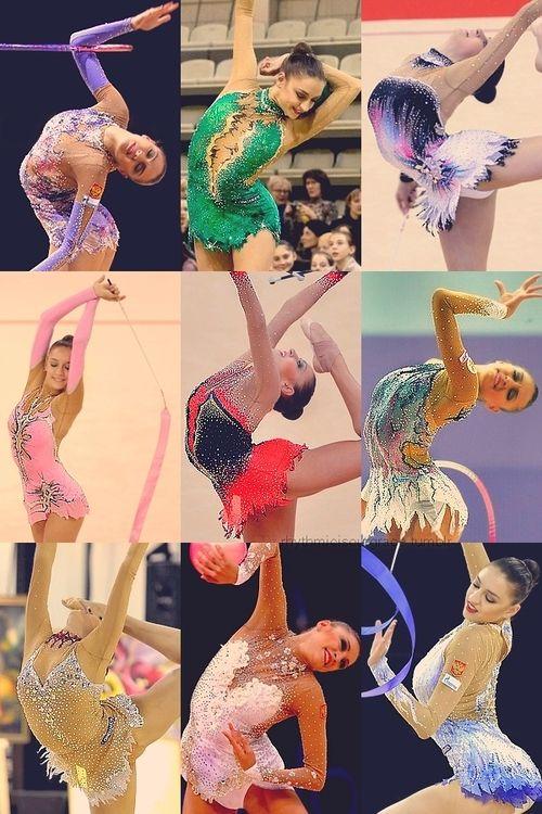Love rhythmic gymnastics I do a different type but it's still beautiful