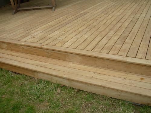 Principe général de mise en oeuvre du0027une terrasse en bois Decks