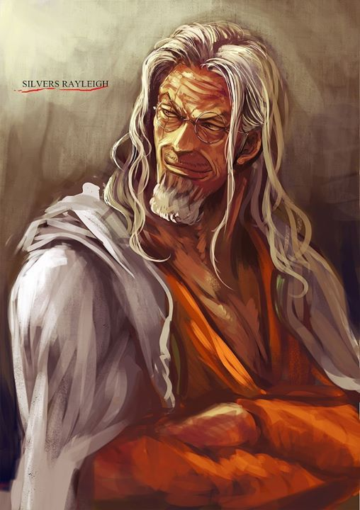 One Piece | Rayleigh (avec images) | One pièce manga, Image drôle manga, One piece personnage