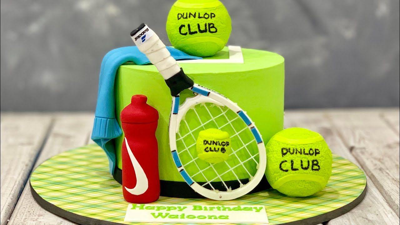 Tennis Cake Tennis Racket Cake Tennis Cake Tennis Racket Cake Tennis Birthday