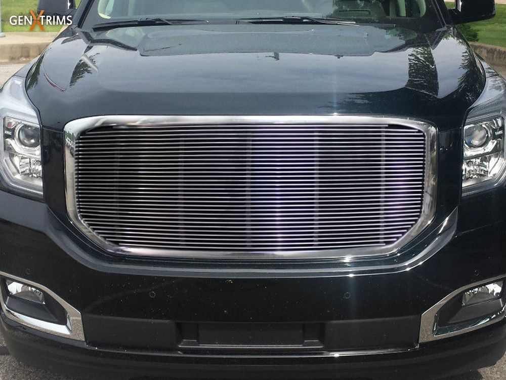 2015 Gmc Yukon Polished Billet Grille Insert By Genx Trims Gmc