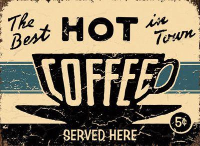 12 Vintage Coffee Signs | Coffee ☕️ | Vintage coffee signs