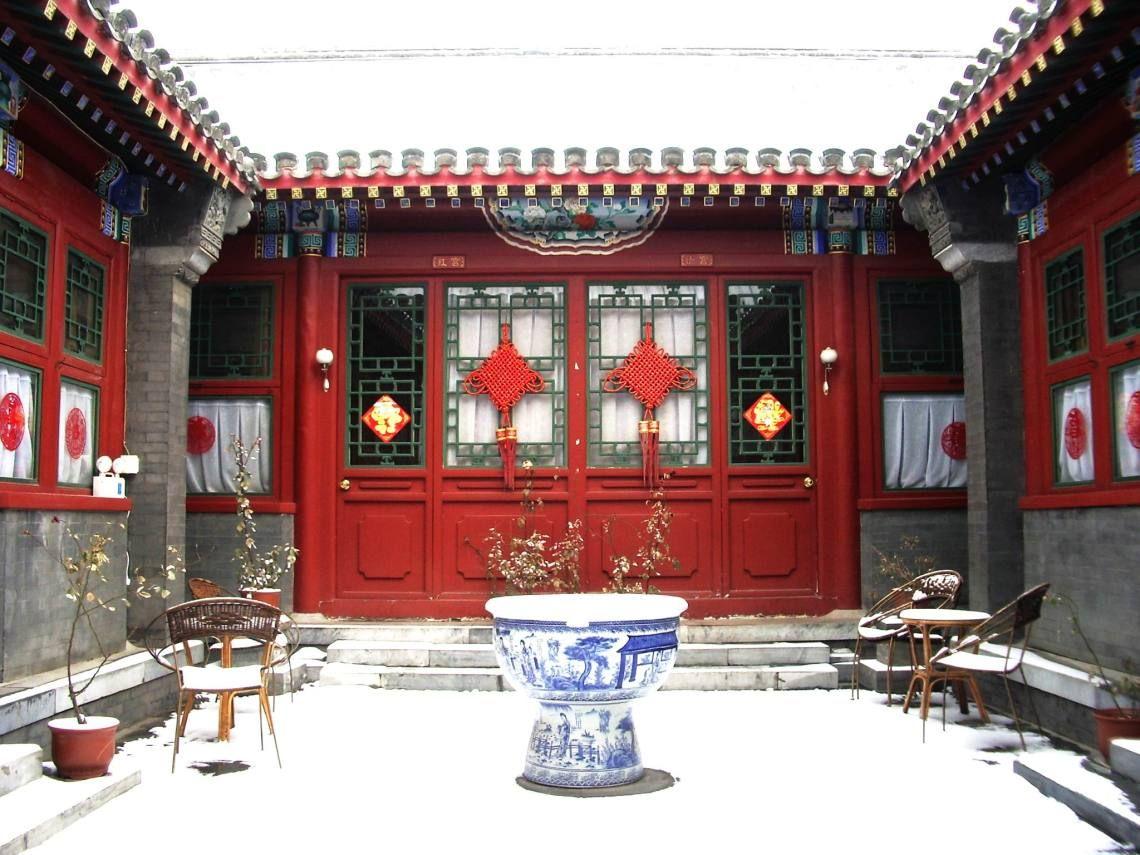 Các loại kiến trúc nhà ở Trung Quốc Khách sạn, Kiến trúc