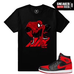 662c2692881b Jordan 1 Banned Match Sneaker Tee Shirts