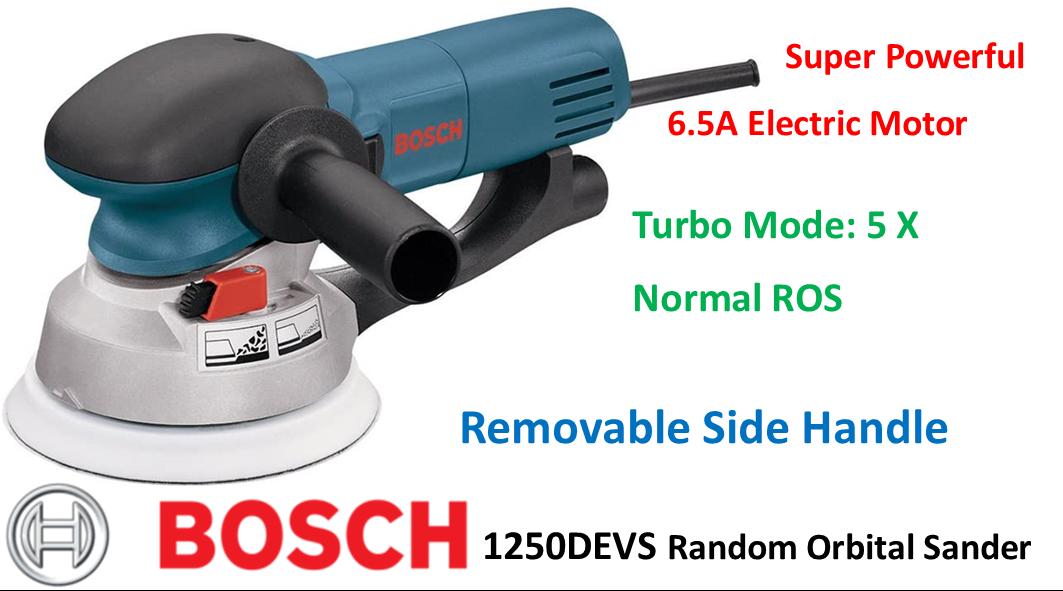 Bosch 1250devs In 2020 Best Random Orbital Sander Power Tools Tools