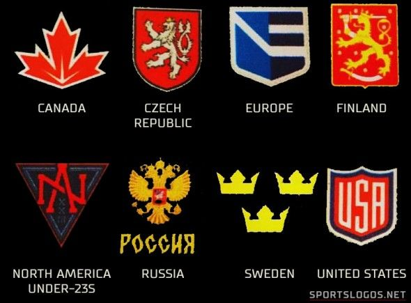 First Look At 2016 World Cup Of Hockey Logos Hockey World Cup Hockey Logos Hockey