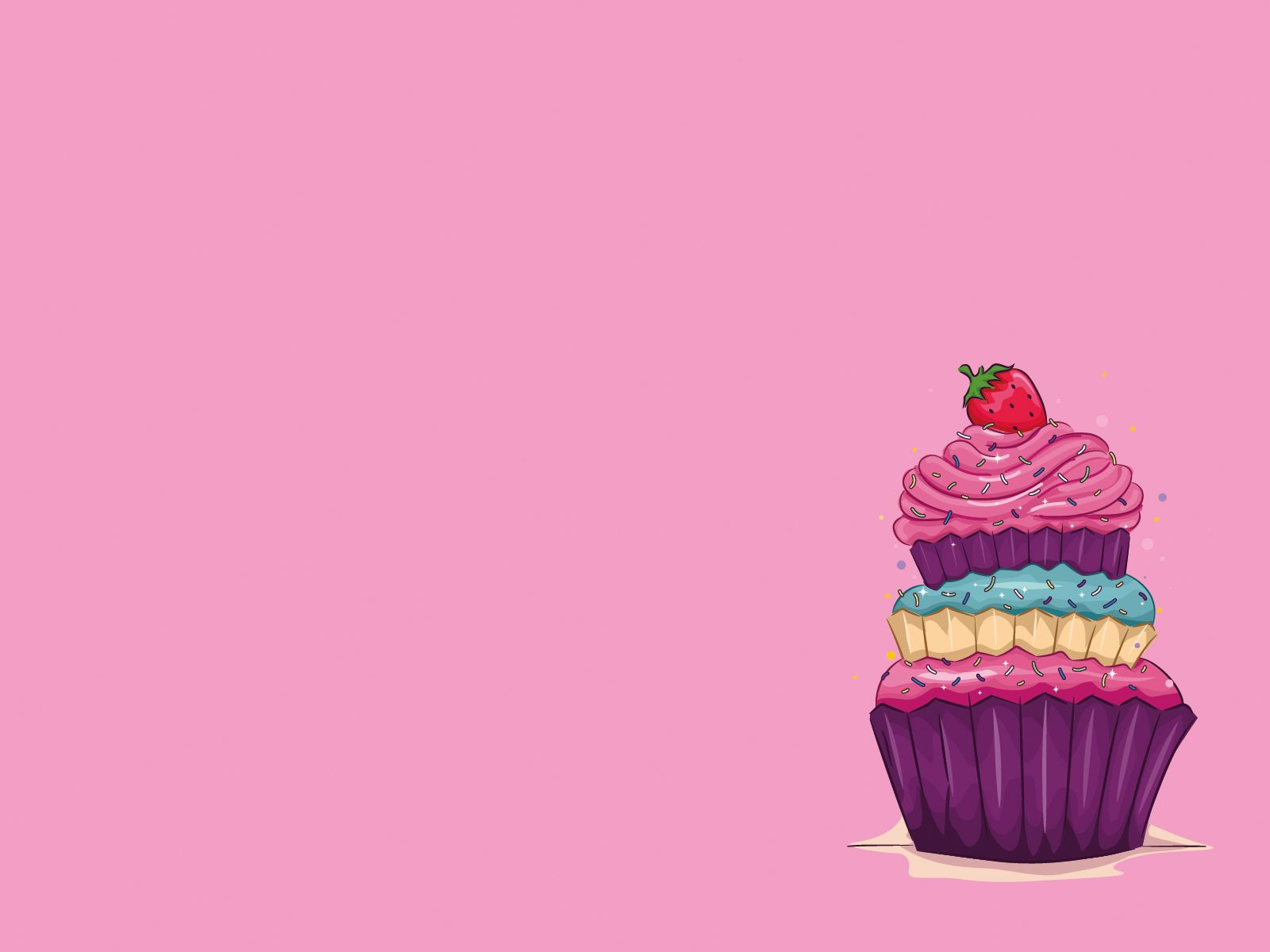 С днем рождения картинка минимализм