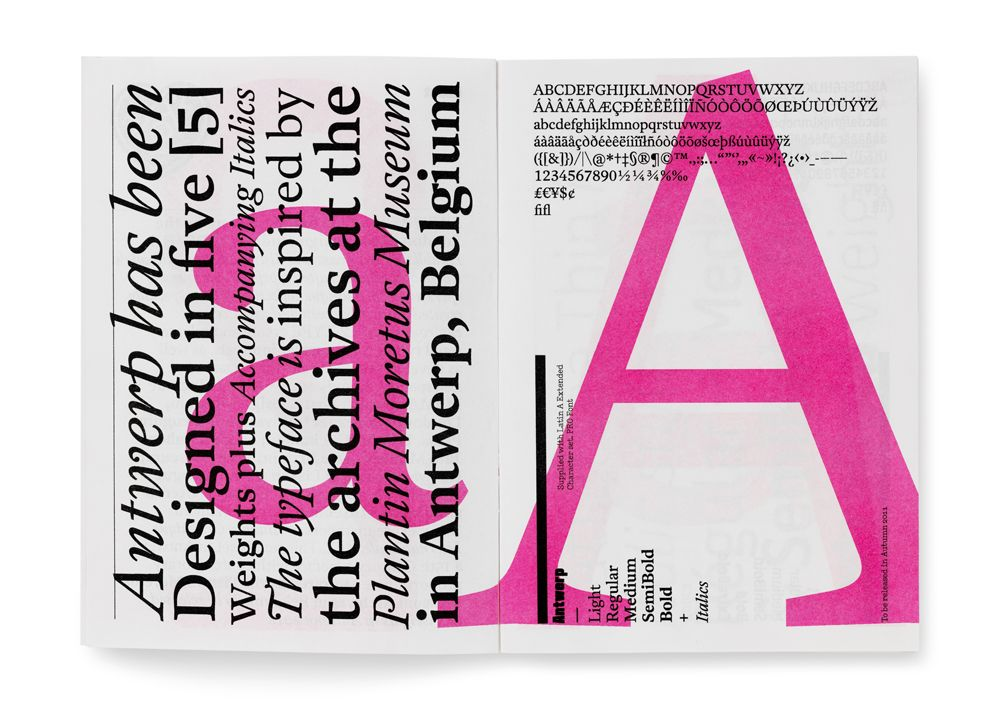 A2 Type Poster Layout Book Design Layout Typography Layout