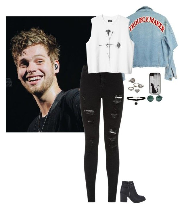"""""""You're Kinda Hot Though"""" by xxxkellerxxx ❤ liked on Polyvore featuring Mudd, Parisian, CellPowerCases, Forever New, YHF and Boohoo"""