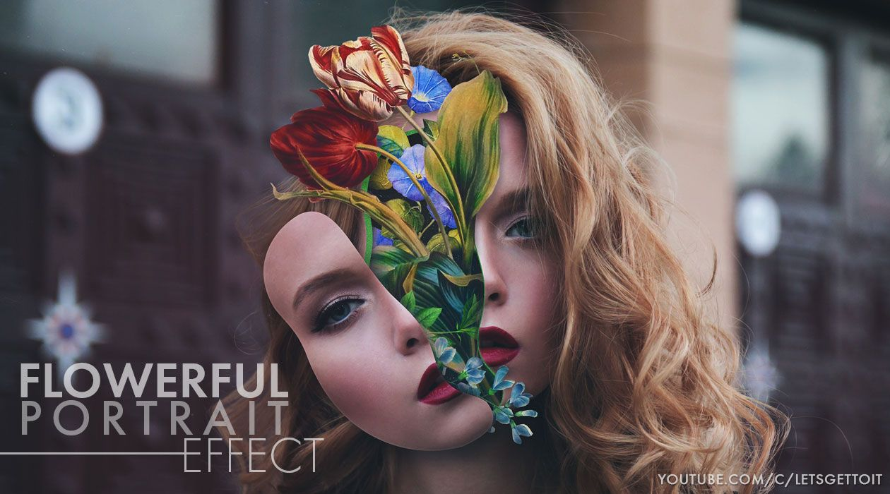 Flowerful portrait effect in photoshop action pinterest flowerful portrait effect in photoshop baditri Choice Image
