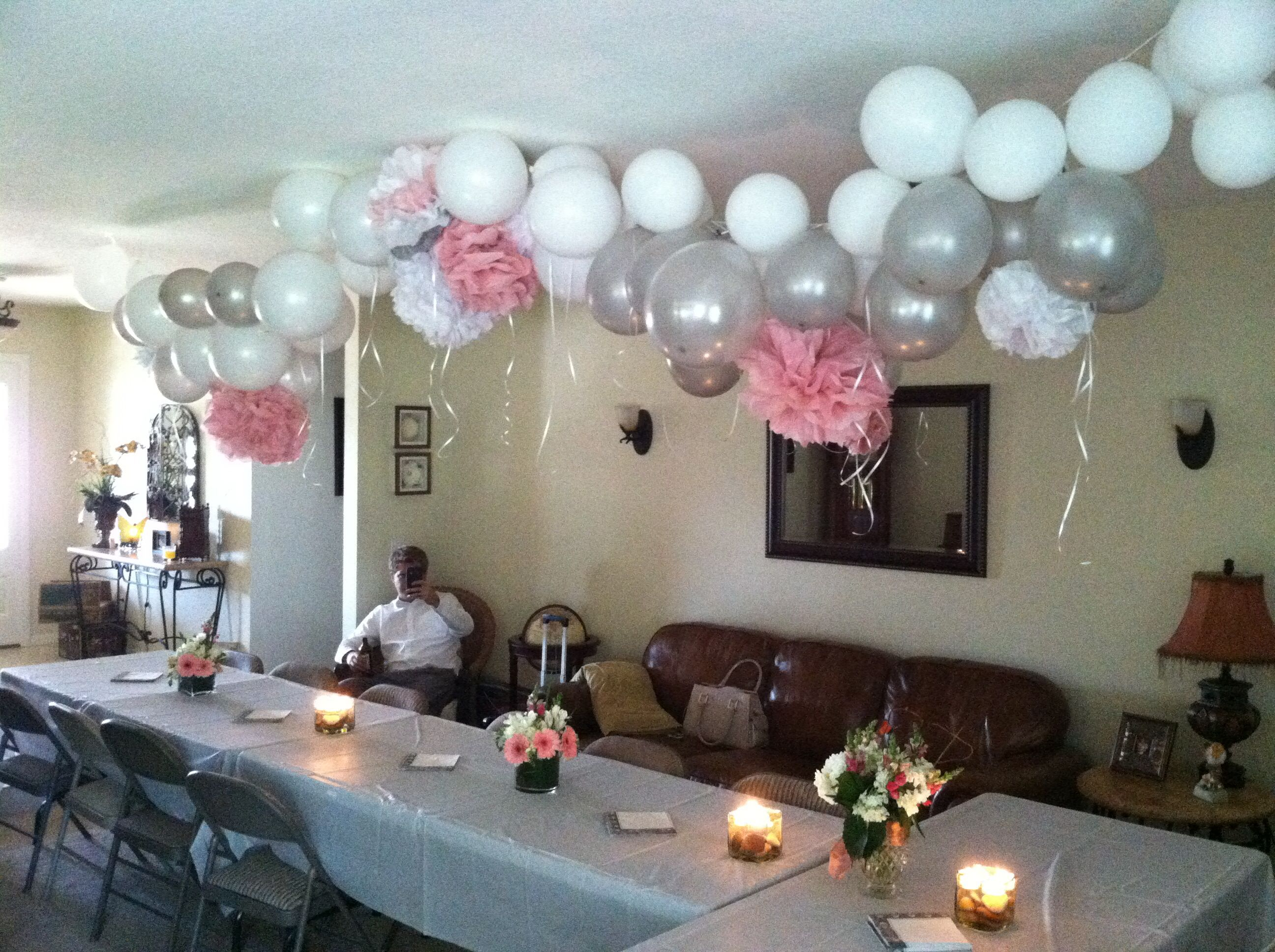 My parents surprise anniversary party decor ideas