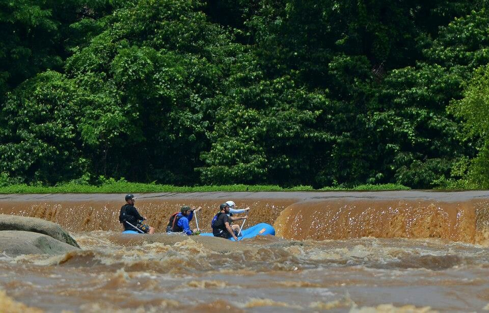 Rafting on the james