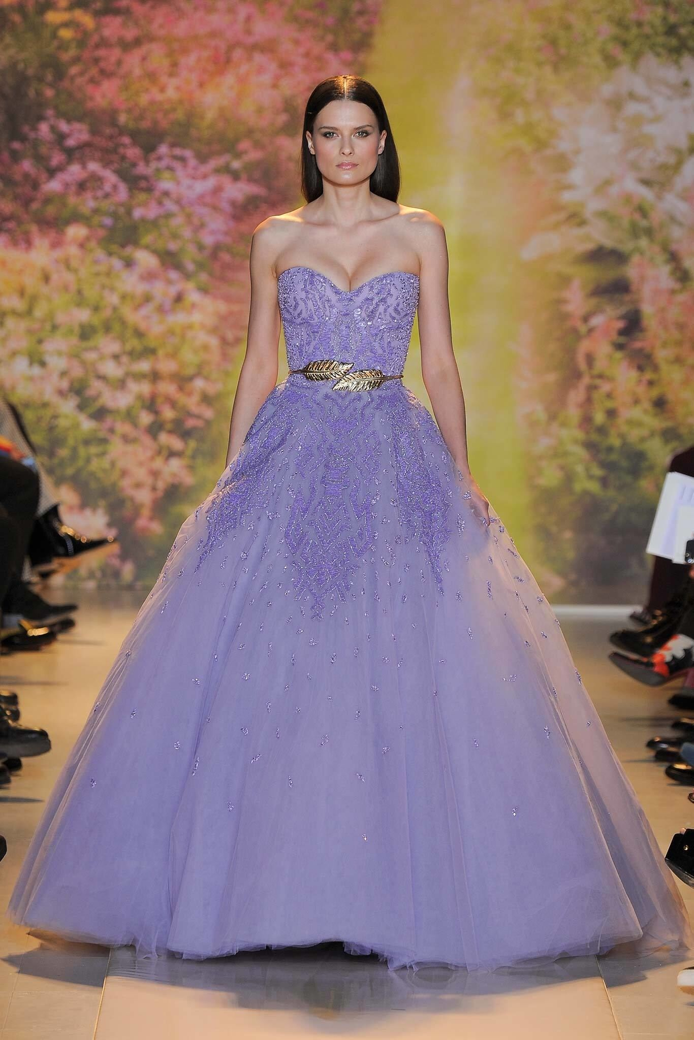 Zuhair murad spring couture fashion show zuhair murad spring