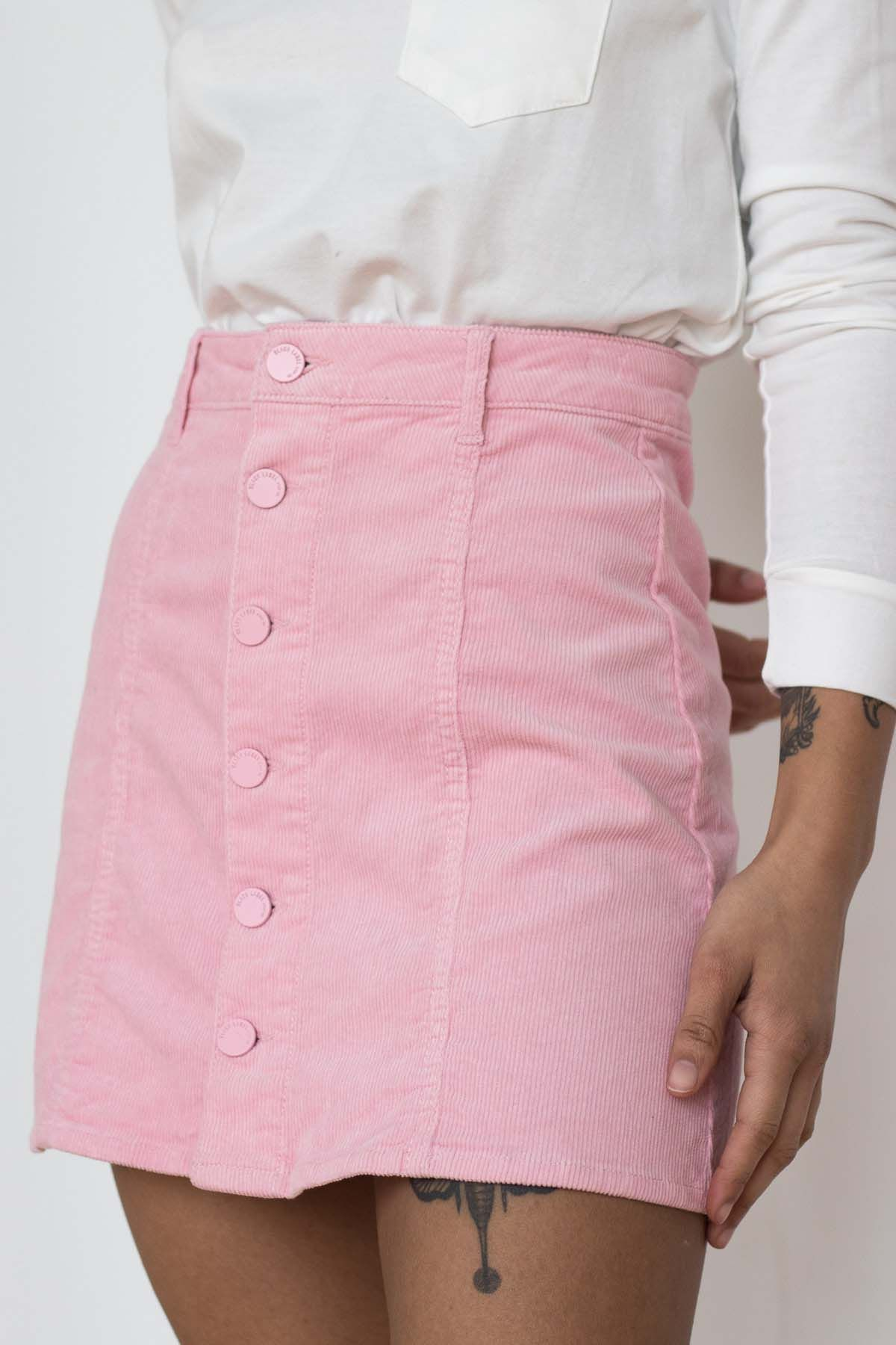 743b98a81b5b6d Have you seen our new Corduroy Skirts??? We've got natural colors to our  pastel pink and blue!